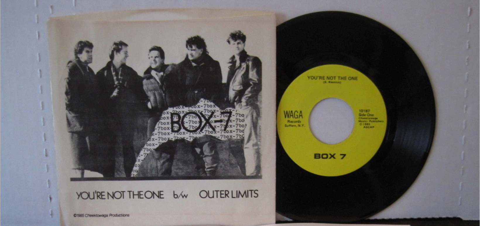 Box 7 | Vinyl - You're Not The One